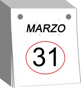 31 marzo: