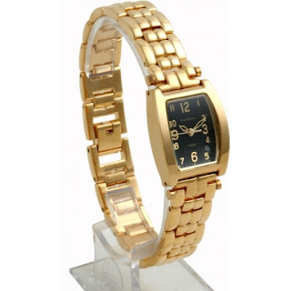Krug Baumen Ladies Tuxedo Gold Watch £145