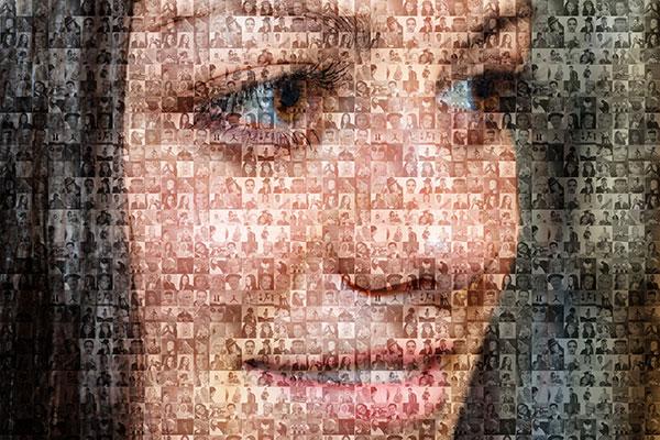 Foto Mosaik Dengan GIMP