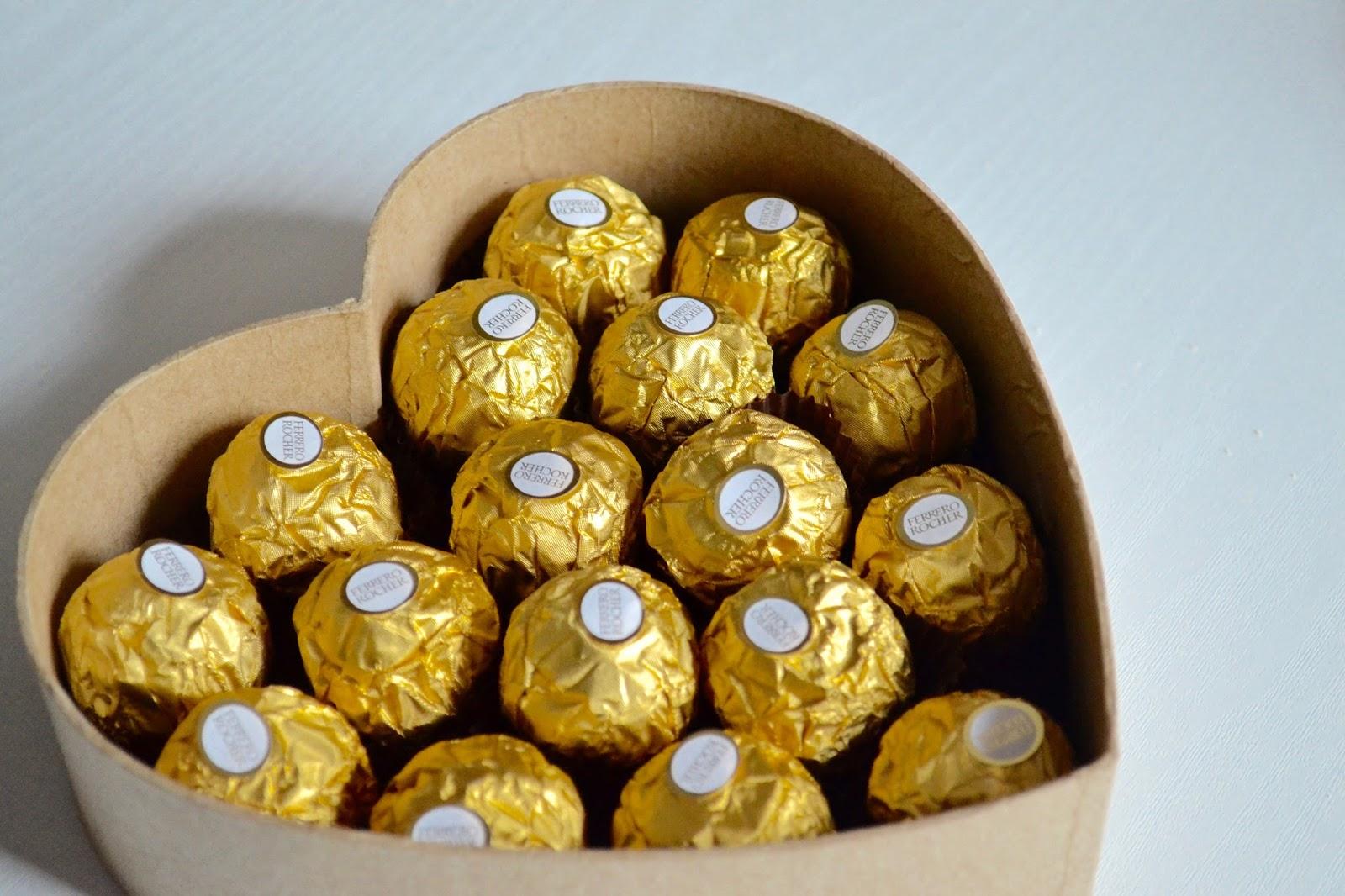Diy Gift Chocolate Box The Things She Makes