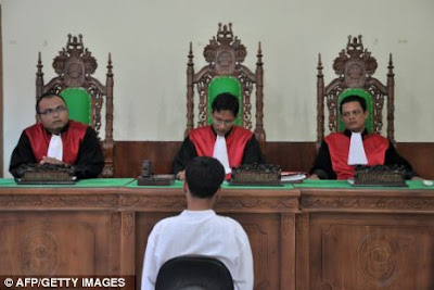 Indonesian courtroom (file photo)