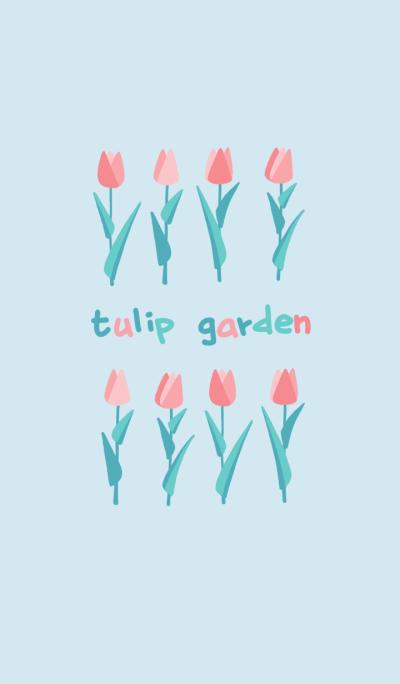 tulip garden!
