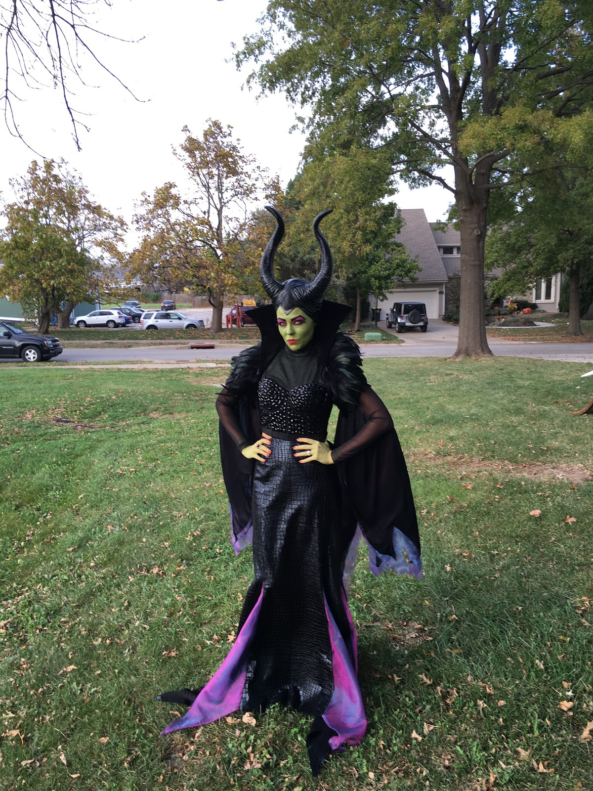 Maleficent Costume Diy Glowing Staff Tutorial
