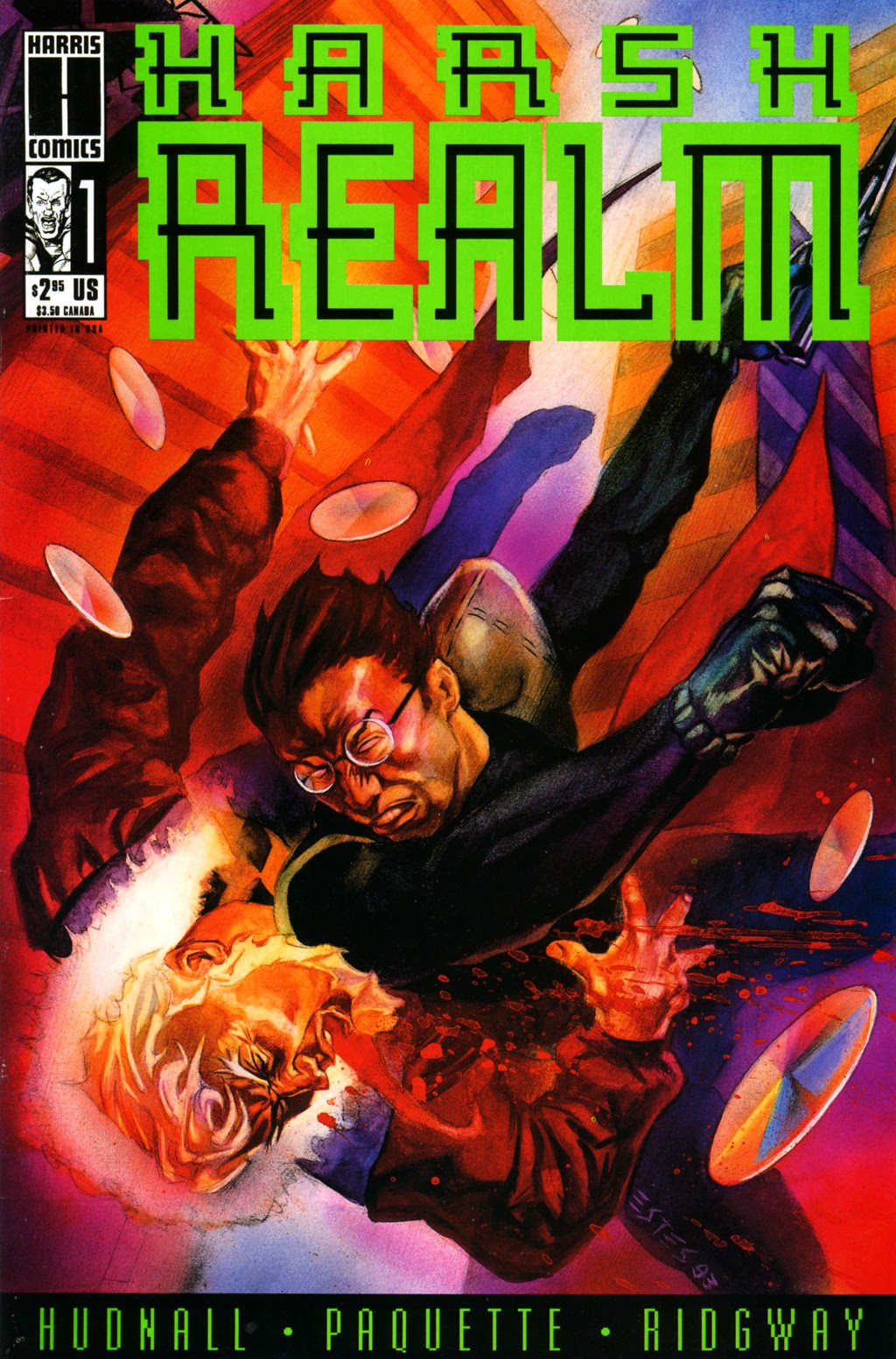 Read online Harsh Realm comic -  Issue #1 - 1