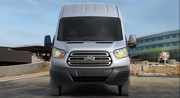 2015 Ford Transit front