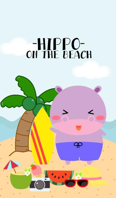 Hippo on the beach Theme(jp)