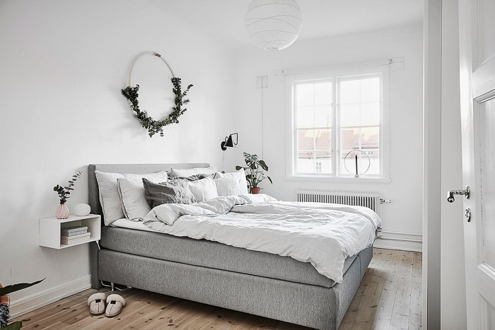 como decorar mi dormitorio para navidad