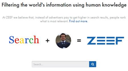ZEEF Investasi $ 2.38M Kembangkan Search Engine Direktori
