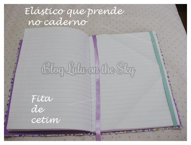 Caderno Personalizado da Calda de Morango,