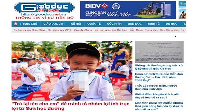 Báo điện tử Giáo dục Việt Nam bị phạt 30 triệu đồng: Chưa thuyết phục