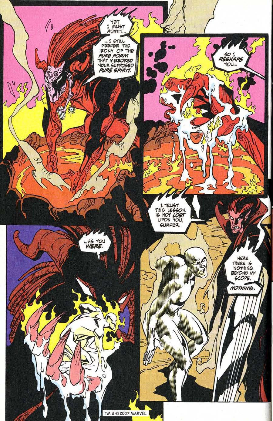 Read online Silver Surfer (1987) comic -  Issue #100 - 20