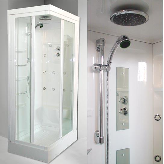 Arredo e design maggio 2012 - Box doccia vetrocemento ...