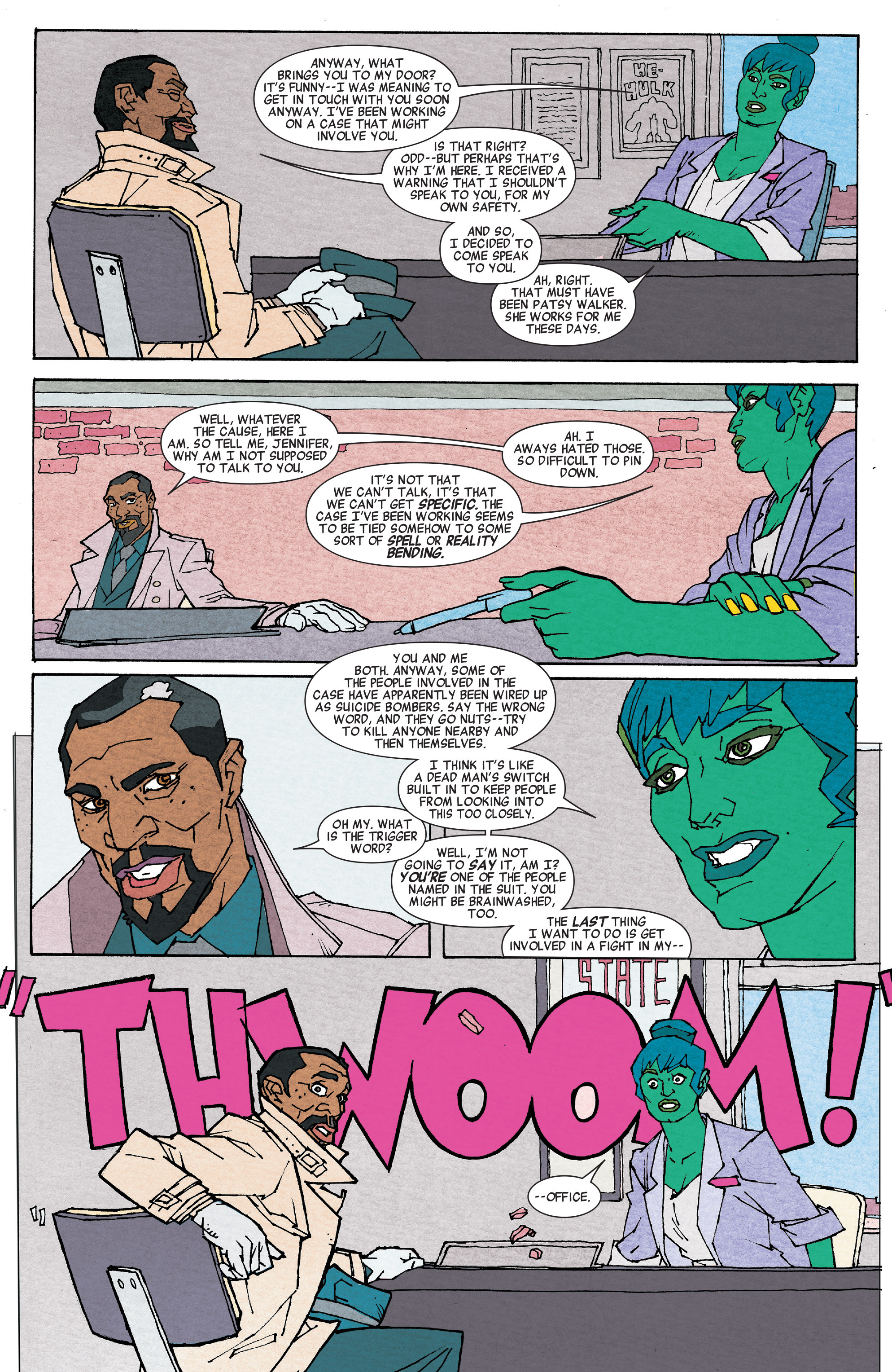 Read online She-Hulk (2014) comic -  Issue #6 - 7