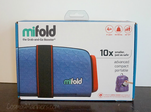 Redefining the Family Road Trip Experience: A Review of the Mifold Booster Seat | CosmosMariners.com