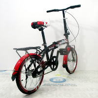 16 morison ms8118 folding bike