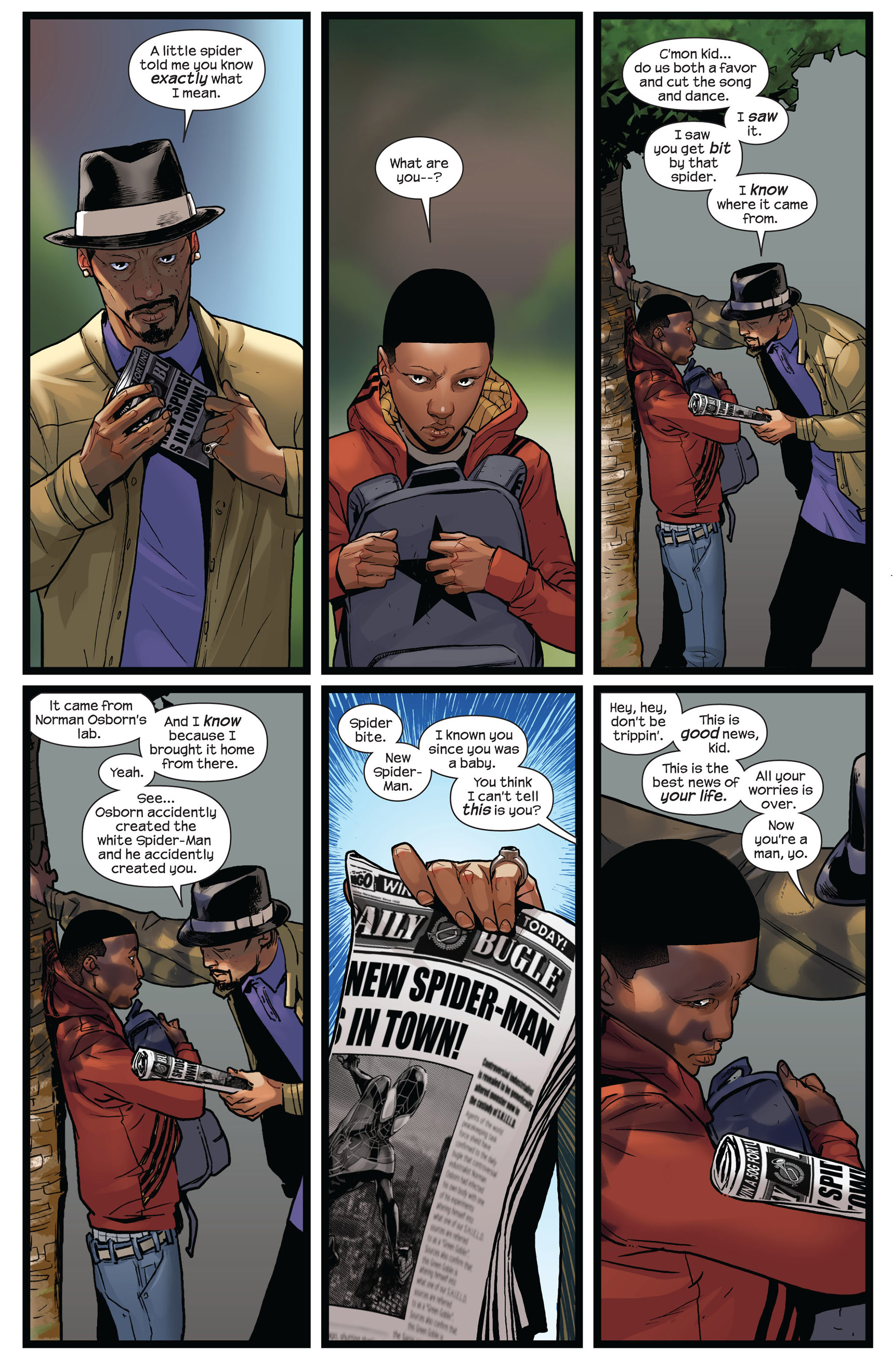 Read online Ultimate Comics Spider-Man (2011) comic -  Issue #8 - 6