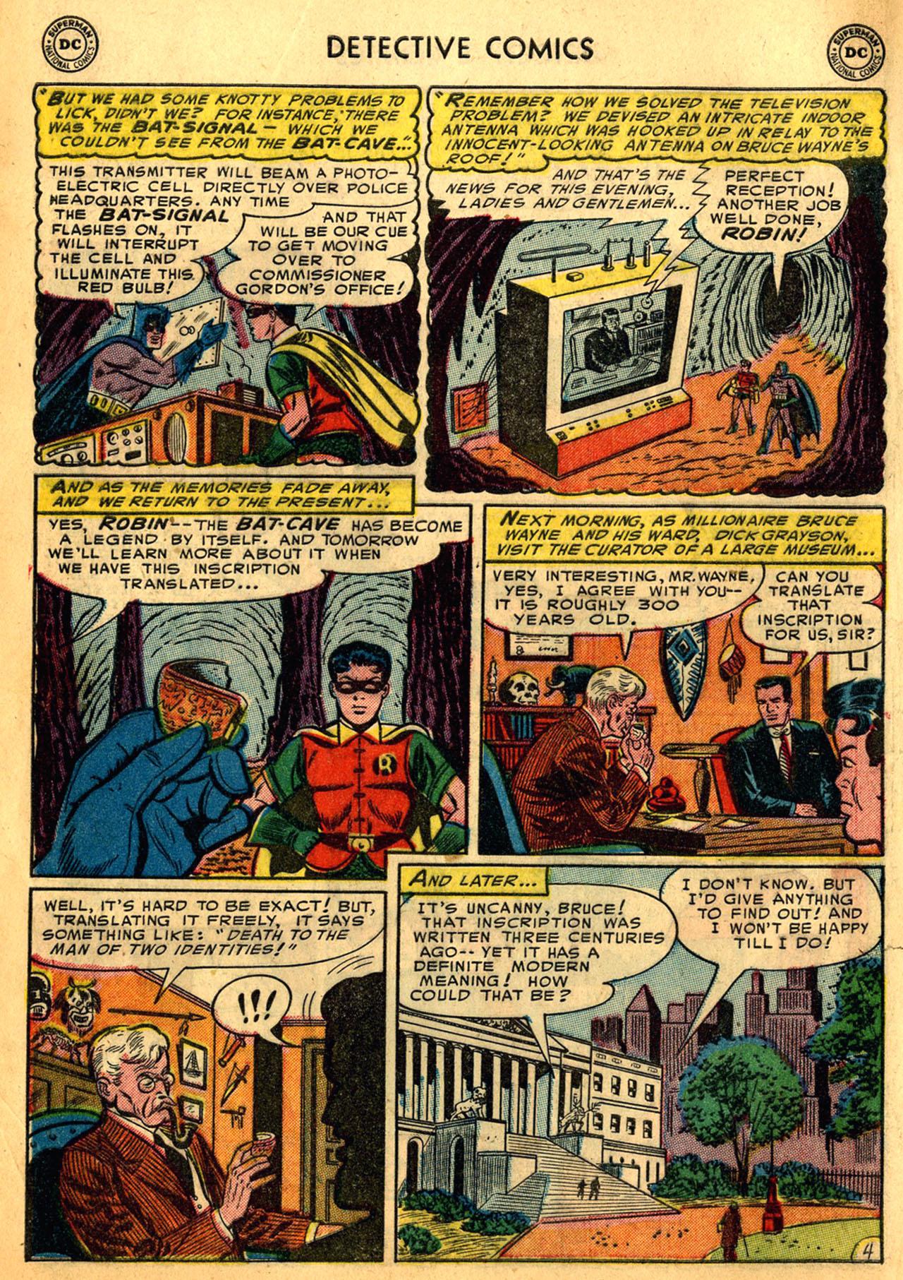Read online Detective Comics (1937) comic -  Issue #205 - 6