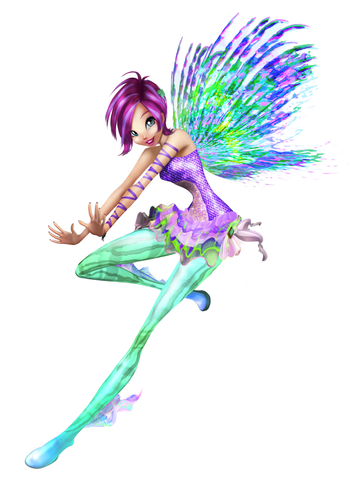 Winx club fairies tecna 39 s sirenix 3d - Winx club sirenix ...