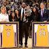 NBA: Se vendieron US$824,000 en mercancías por retiro camisetas de Kobe