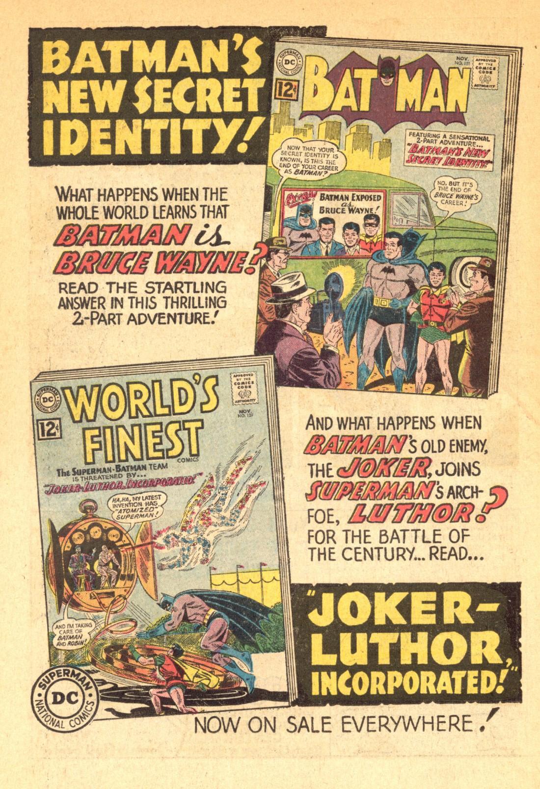 Read online World's Finest Comics comic -  Issue #129 - 33