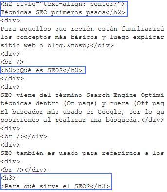 Etiquetas de titulo - SEO on page