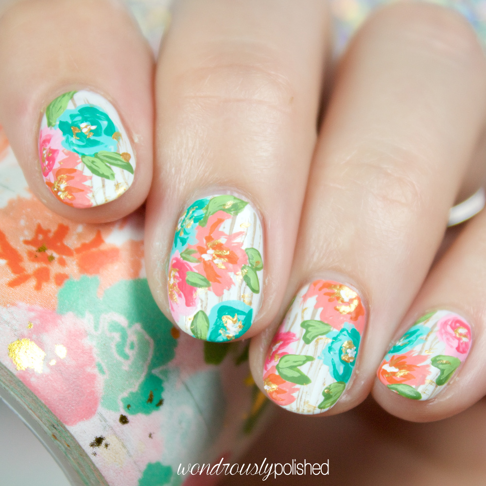 Wondrously Polished: Nail Art: The Planner Society Washi ...