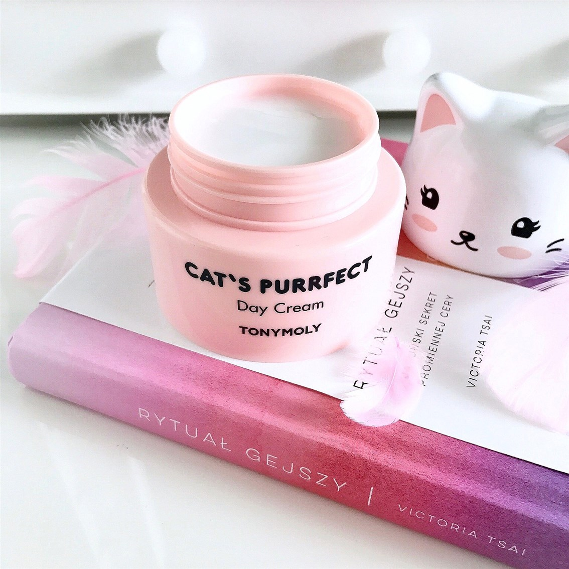 Tonymoly Cat's Purrfect Day Cream konsystencja