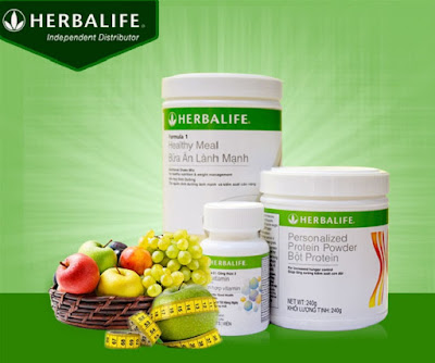 Bộ ba sản phẩm Herbalife giúp giảm cân hiệu quả