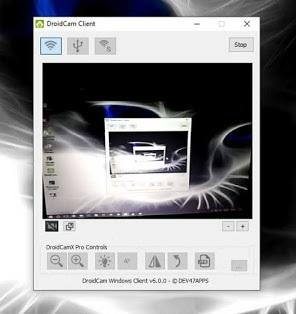 Menjadikan Android Sebagai WebCam pada Komputer Atau Laptop