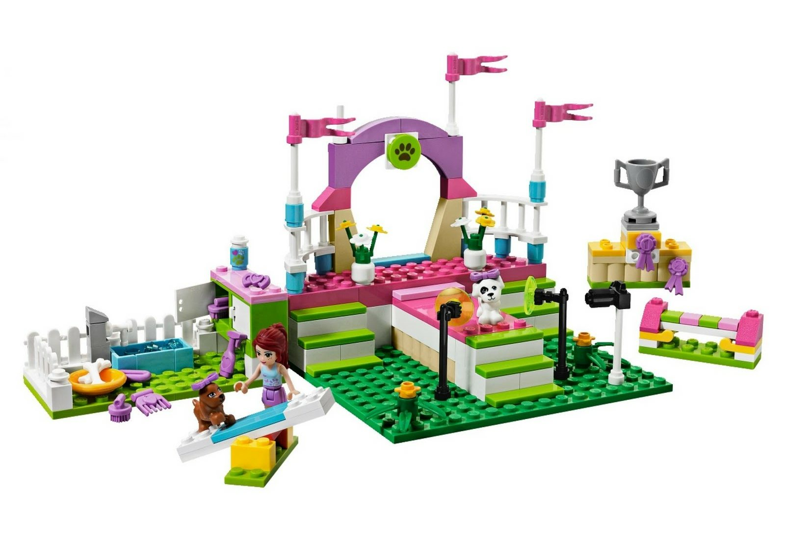 Brick Friends: LEGO 3942 Heartlake Dog Show