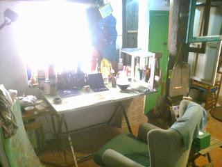 taller de pintura en la casa del pozo