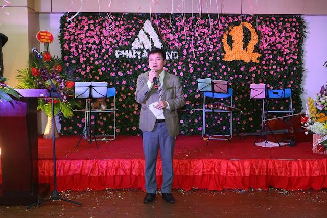 Ông Phan Thanh Điệp đại diện Phú Tài Land