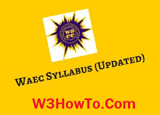Official WAEC GCE Syllabus For Nov/Dec 2016 [Updated] price in nigeria