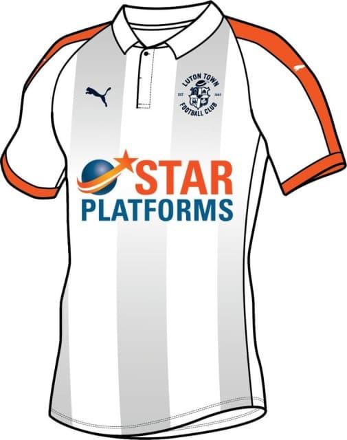 ルートン・タウンFC 2018-19 ユニフォーム-アウェイ