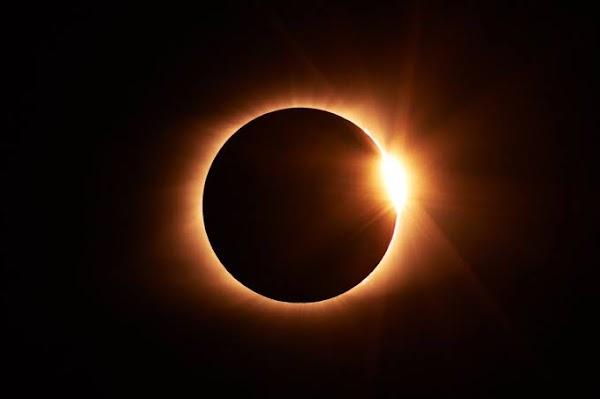 En unas horas habra eclipses solar.