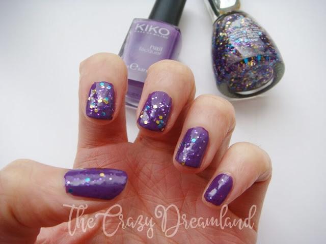 manicura-morado-purpurina