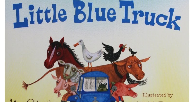 little blue truck book  u0026 sensory play activity for