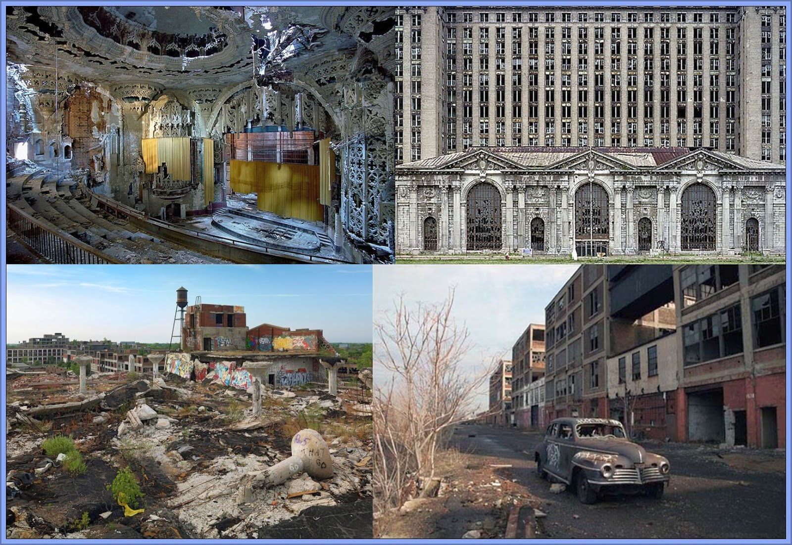 decline of detroit It is so sad to watch one of america's greatest cities die a horrible death once upon a time, the city of detroit was a teeming metropolis of 18 million people and it had the highest per capita income in the united states.