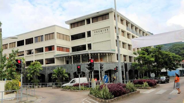 Regierungsgebäude der Seychellen in Victoria