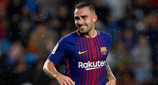 cuplikan gol barcelona vs sporting lisbon 2-0