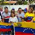 Venezolanos se manifiestan en Santo Domingo contra el Gobierno de Maduro