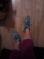 Chaussures de course New Balance, capris