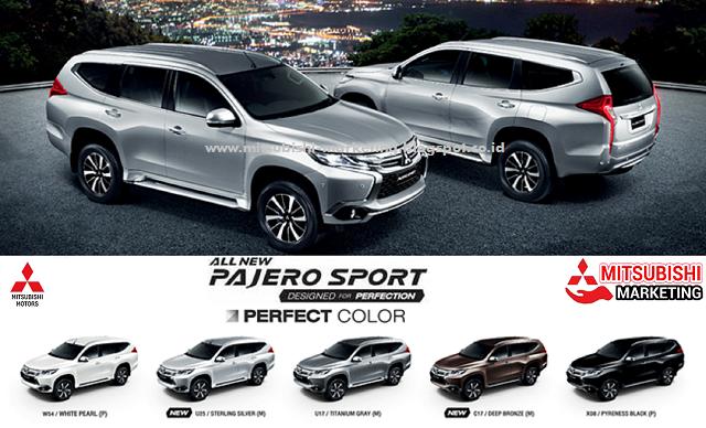 warna all new pajero sport