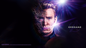 Avengers Endgame Wallpapers (Captain America and Black Widow)