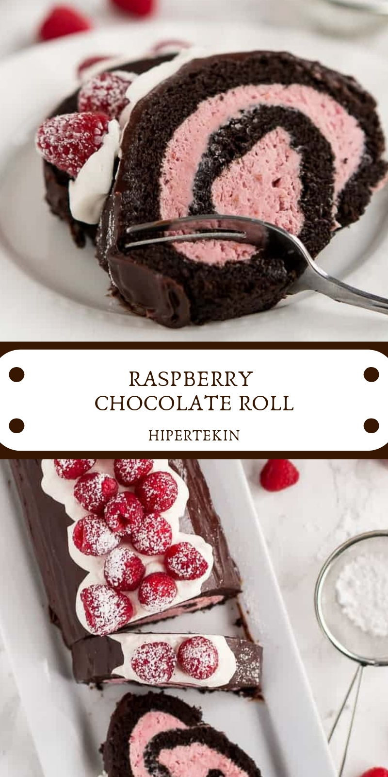 RASPBERRY CHOCOLATE ROLL