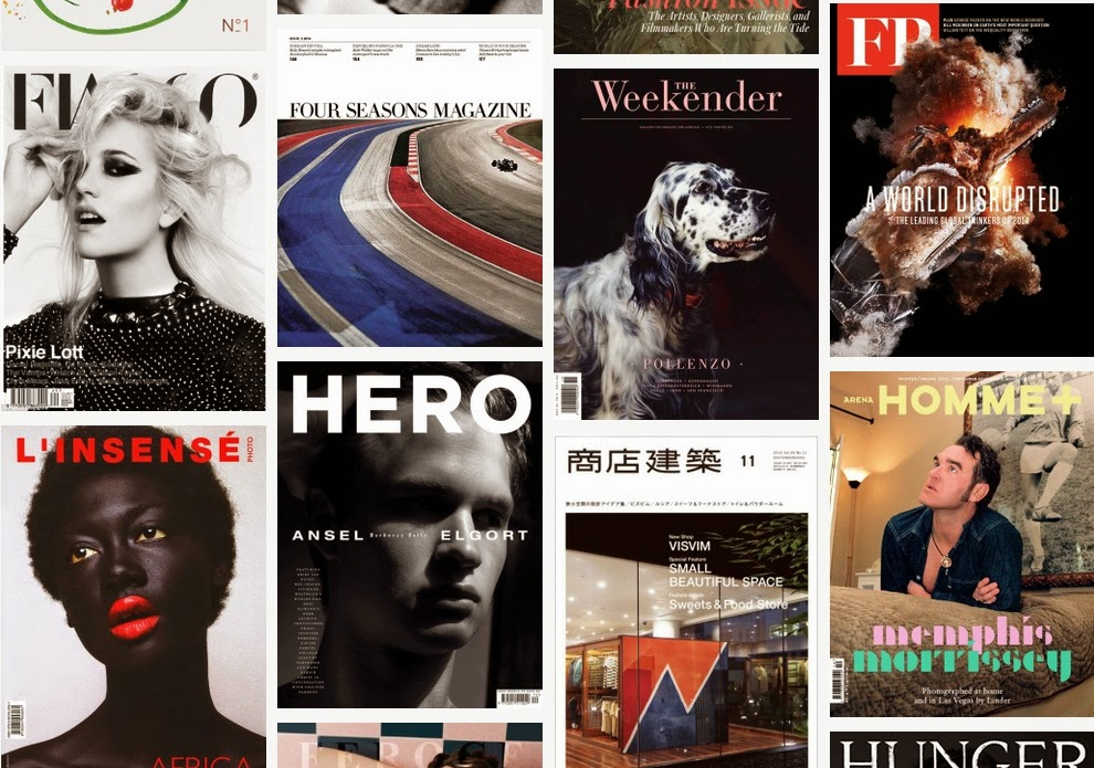 Excelentes diseño portadas de revistas para inspirarse