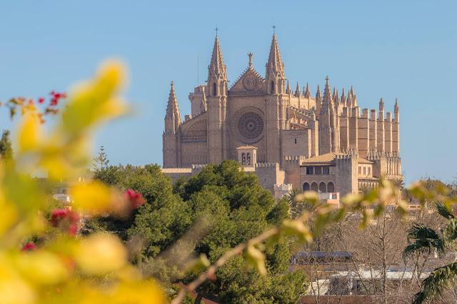 достопримечательности Майорка, кафедральный собор ла Сеу, Майорка, Пальма-де-Майорка