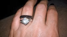 This Ring Photo Was Just Sent In By The Anonymous Lady With Second Comment Below She Says Is My Wedding Along Side Of Widow That I
