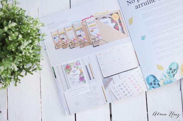 Agenda para colorear en la Revista de Mooi Magazine