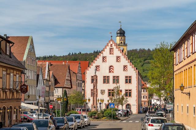 LT 17 Kur und Wein | Wandern in Bad Mergentheim | Liebliches Taubertal Weinlehrpfad Markelsheim | Wanderung um Bad Mergentheim 16